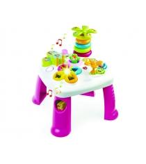 Развивающий игровой стол Smoby розовый 211170