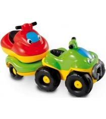 Smoby Квадроцикл с прицепом и гидроциклом (211196)