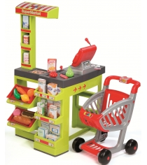 Игрушка для супермаркета Smoby Супермаркет с тележкой 350202...