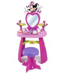 Детский туалетный столик и стульчик Smoby Minnie 26987