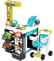 Супермаркет Smoby с тележкой 350206