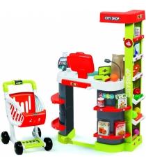 Игрушка для супермаркета Smoby City Shop красный 350211