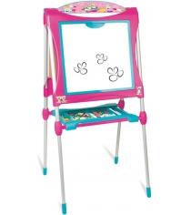 Детский мольберт Smoby двухсторонний розовый 410102...