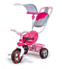 Трехколесный детский велосипед Smoby Baby Draiver Confort розовый 434116...