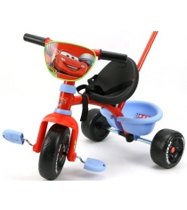 Трехколесный детский велосипед Smoby Cars 444241
