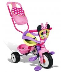 Трехколесный детский велосипед Smoby Minnie 444248