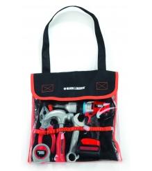 Набор инструментов в сумке Black Decker и дрель Smoby 500281...