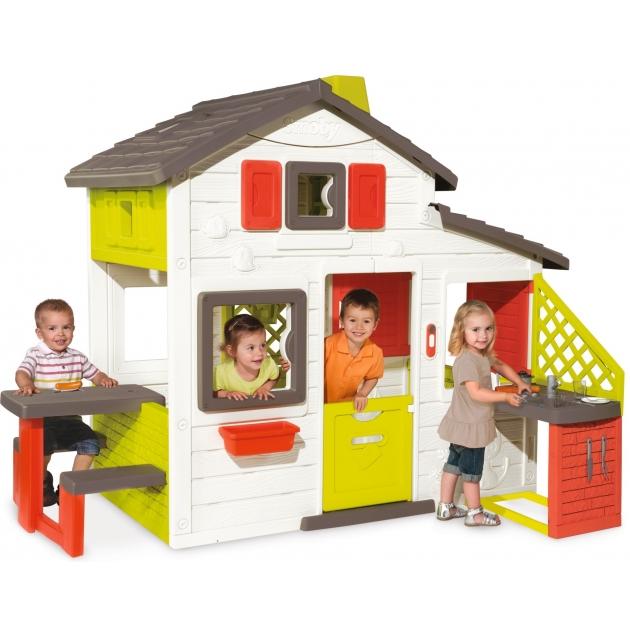 Smoby Домик с кухней 810200