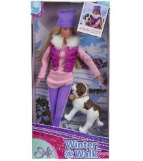 Кукла Steffi love Штеффи на прогулке с собакой 5730931