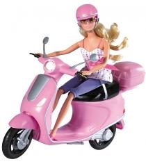 Simba Штеффи на скутере 5730282