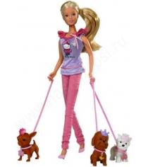 Кукла Simba Штеффи с собачками Hello Kitty 5732786