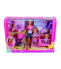 Кукла Steffi love Штеффи дети и принадлежности 5736350