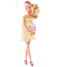 Кукла Steffi love Беременная кукла Штеффи с люлькой 5737084