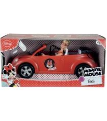 Кукла Steffi love Штеффи Minnie Mouse на авто 5745896