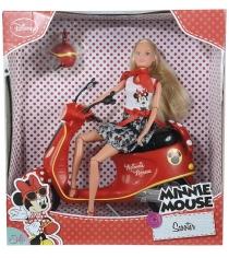 Кукла Steffi love Штеффи Minnie Mouse на мопеде 5748641