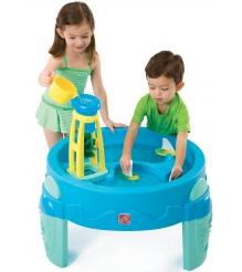 Столик для игр с водой и песком с водяной мельницей Step 2 753800