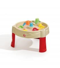 Детская песочница Песчанные замки Step2 с крышкой 844500
