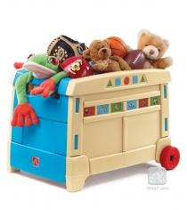 Ящик комод для игрушек на колесах Step 2 700400
