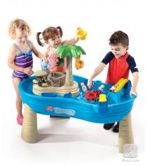 Столик для игр с водой и песком Step 2 Тропики 726900