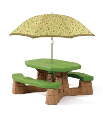 Детский столик для улицы Step 2 Пикник с зонтом 787700