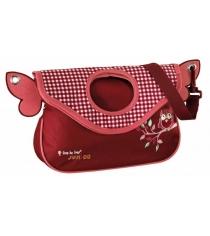 Сумка детская Junior Alpbag Girls Cute owl красный/розовый Step By Step 00129118