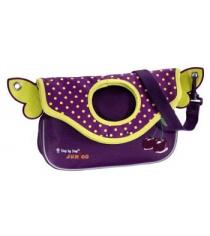 Сумка детская Junior Alpbag Girls Purple cherry полиэстер фиолетовый/желтый Step By Step 892930