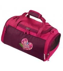 Сумка спортивная Tweedy Hearts полиэстер розовый Step By Step 00103155