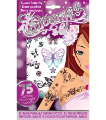 Модные тату Style Me Up Прекрасные бабочки 1150