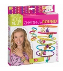 Набор для создания браслетов с подвесками charm a round Style Me Up 605...