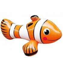 Надувная игрушка для бассейна Summer Escapes Рыба клоун для плавания верхом 127см