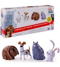 Игрушка Тайная жизнь домашних животных 4 фигурки героев 72815