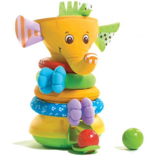 Детская пирамидка Tiny Love Слоник 425