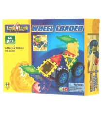 Конструктор Lock N Lock Wheel Loader 66 дет. Tototoys 450