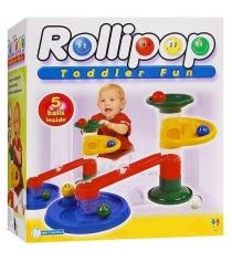 Конструктор Крутые виражи Rollipop 10 дет. 5 шаров Tototoys 803...