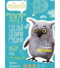 Набор для валяния Toyzy Сова TZ-F002