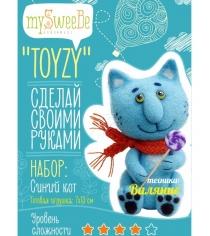 Набор для валяния Toyzy Синий кот TZ-F004