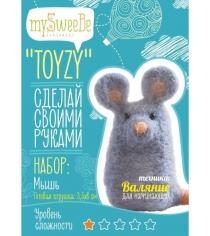 Набор для валяния Toyzy Мышь начальный TZ-F007