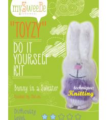Набор для вязания Toyzy Зайка в кофте TZ-K005