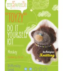 Набор для вязания Toyzy Обезьянка TZ-K006