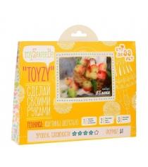 Набор для картин шерстью Toyzy Яблоки TZ-P003