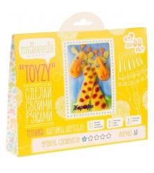 Набор для картин шерстью Toyzy Жирафы TZ-P014