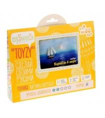 Набор для картин шерстью Toyzy Корабль в море TZ-P017
