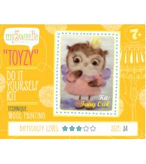 Набор для картин шерстью Toyzy Сова-фея TZ-P025