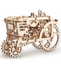 3D Пазл Ugears Трактор 70003