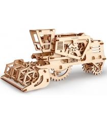 3D Пазл Ugears Комбайн 70010