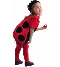Карнавальный костюм для девочки Вестифика Божья коровка Рост: 98-110