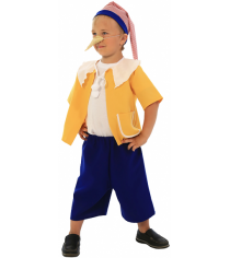 Карнавальный костюм для мальчика Вестифика Буратино р.128-134