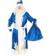 Карнавальный костюм для мальчика Вестифика Дед Мороз синий