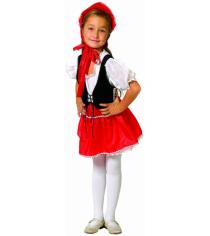 Карнавальный костюм для девочки Вестифика Красная шапочка