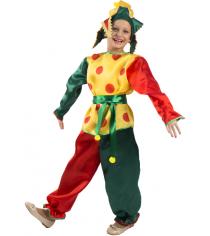 Карнавальный костюм для мальчика Вестифика Петрушка р.104-110